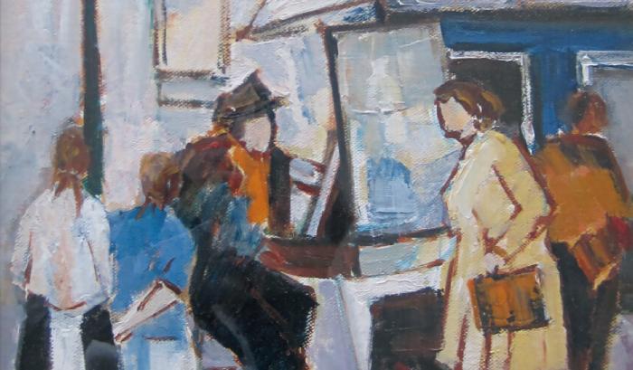 【date.KOBE info】神戸北野美術館ミュージアムギャラリー展「モンマルトルの丘の画家」